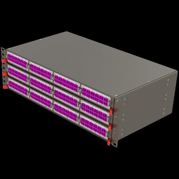 Samm Teknoloji - Modular High Density Panel   3U 12 Slots (1)