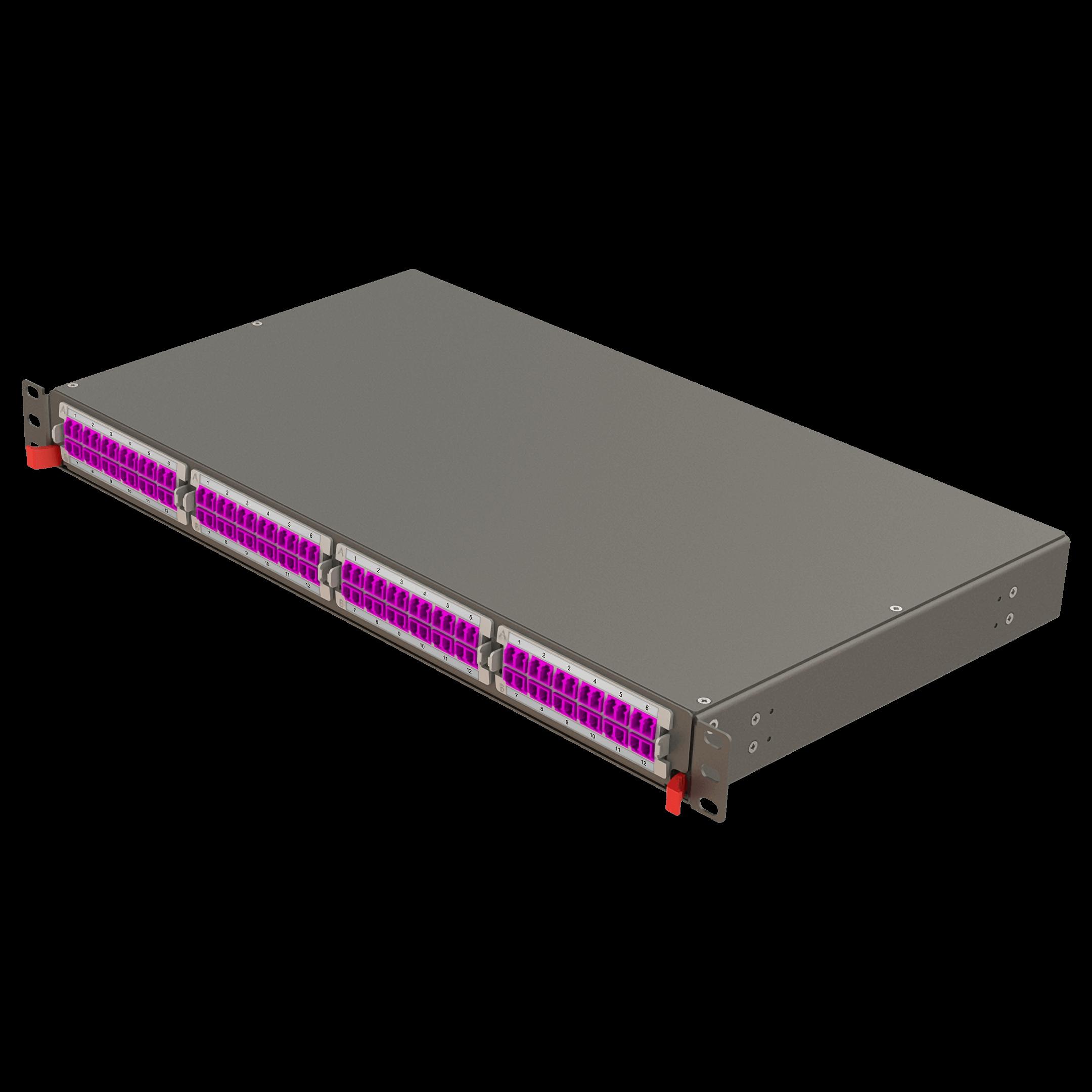 Samm Teknoloji - Modüler Yüksek Kapasiteli Panel | 1U 4 Yuvalı (1)