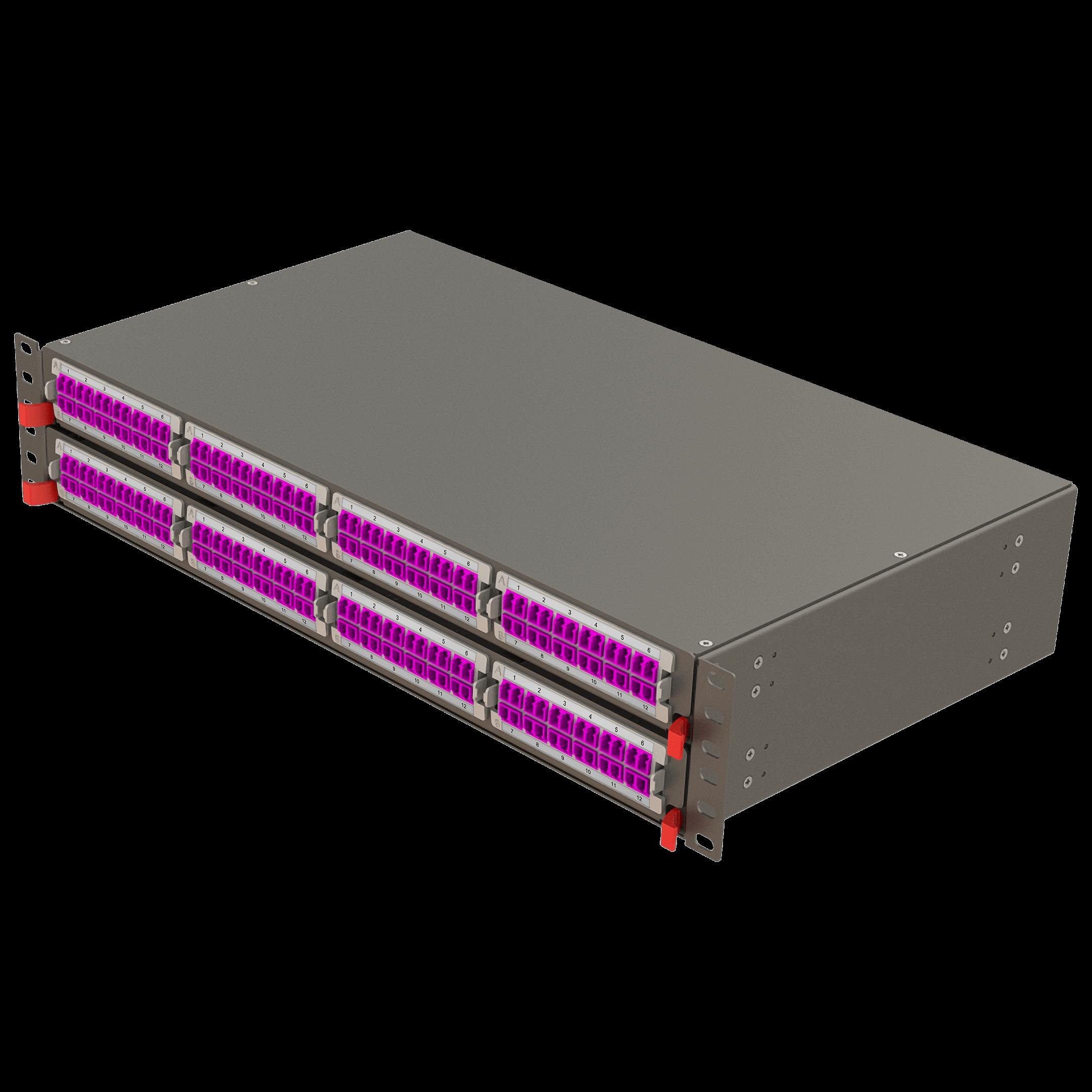 Samm Teknoloji - Modüler Yüksek Kapasiteli Panel | 2U 8 Yuvalı (1)