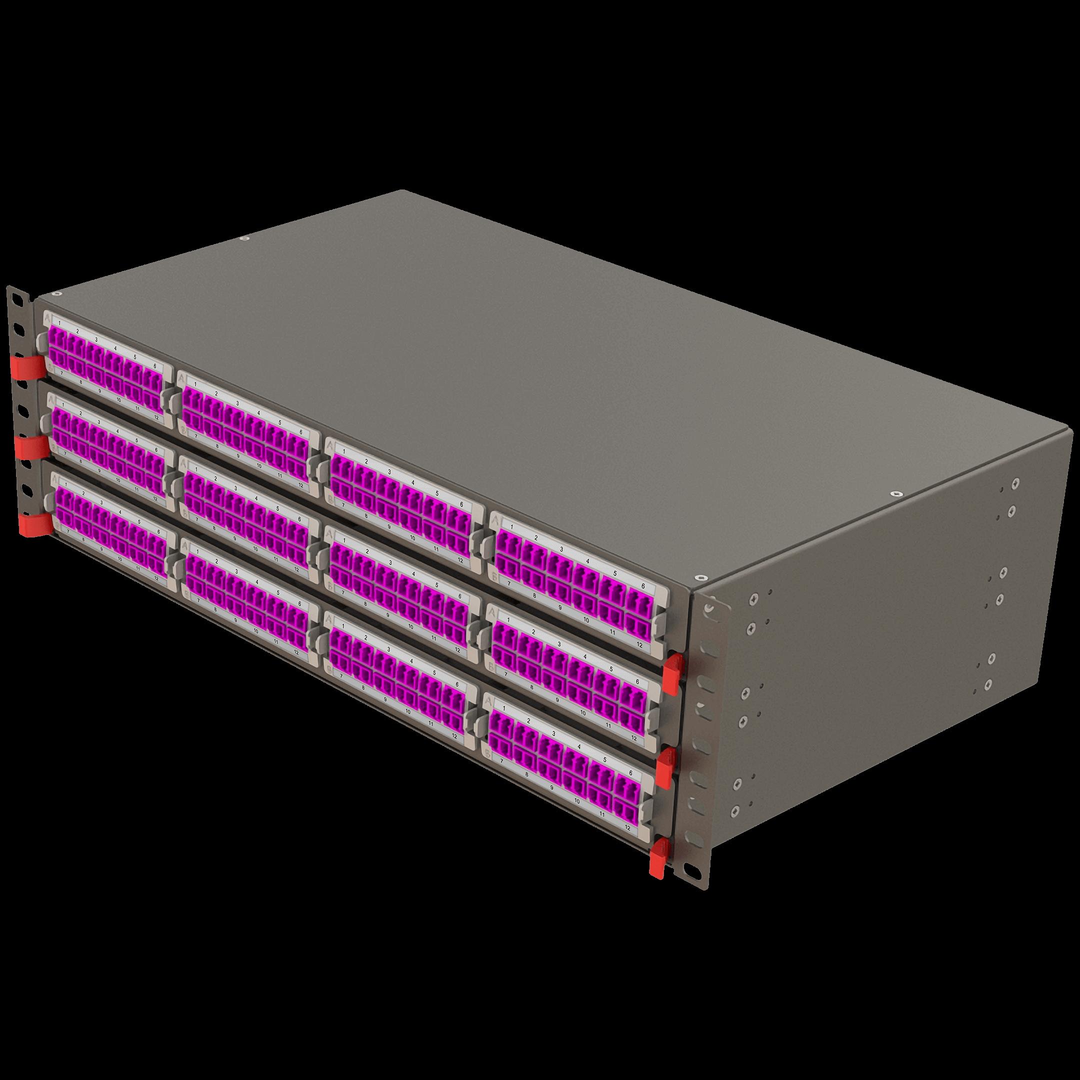 Samm Teknoloji - Modüler Yüksek Kapasiteli Panel | 3U 12 Yuvalı (1)