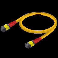 Samm Teknoloji - MTP Elite Dişi-Dişi Patch Cord | Base-24 | Single Mode G657.A2 | 3.0mm