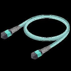 Samm Teknoloji - MTP Elite Dişi-Dişi Patch Cord | Base-8 | Multi Mode G651.OM3 | 3.0mm
