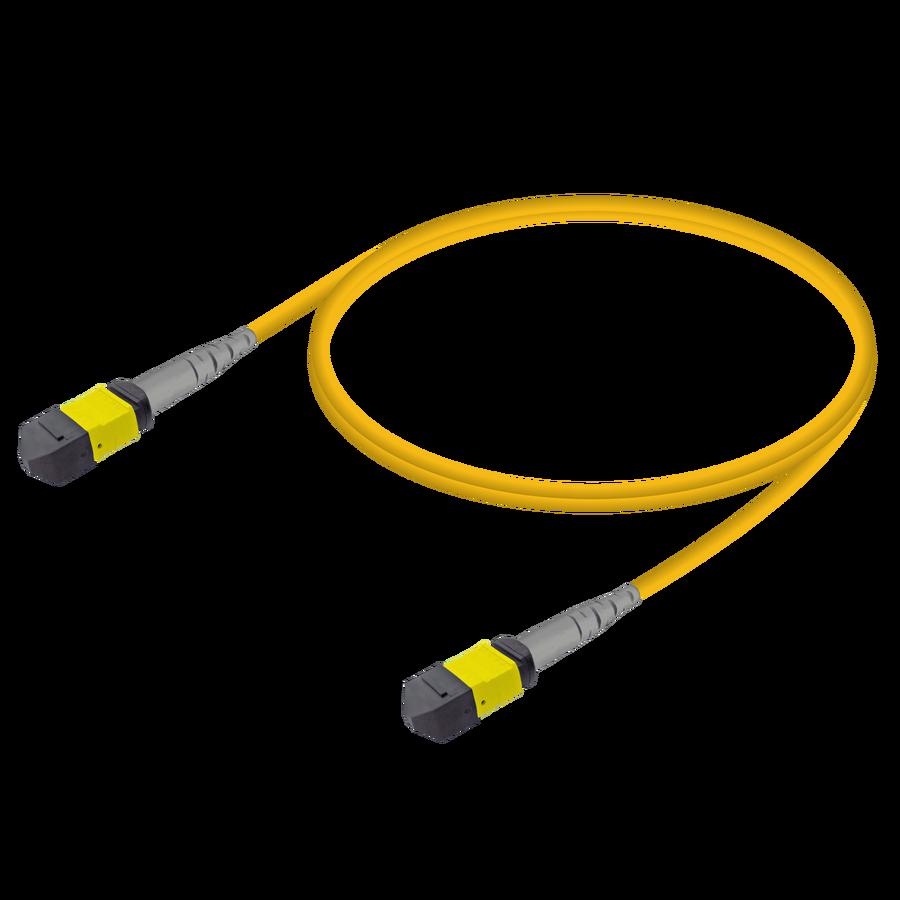 Samm Teknoloji - MTP Elite Dişi-Dişi Patch Cord | Base-8 | Single Mode G657.A2 | 3.0mm