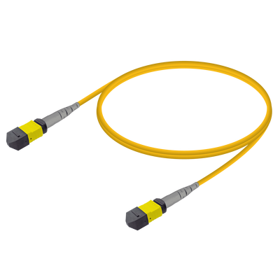 Samm Teknoloji - MTP Elite Dişi-Dişi Patch Cord | Base-8 | Single Mode G657.A2 | 3.0mm
