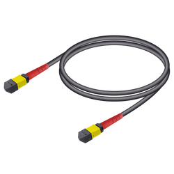 Samm Teknoloji - MTP Elite Dişi-Dişi Universal Patch Cord   Base-24   Single Mode G657.A2   4.8mm