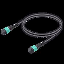 Samm Teknoloji - MTP Elite Dişi-Dişi Universal Patch Cord   Base-12   Multi Mode G651.OM3   4.8mm