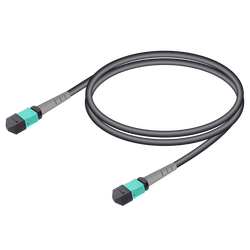 Samm Teknoloji - MTP Elite Dişi-Dişi Universal Patch Cord   Base-8   Multi Mode G651.OM3   4.8mm