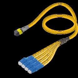 Samm Teknoloji - MTP Elite Dişi-LC/UPC | Base-8 | Single Mode G657.A2 | 3.0/1.8mm
