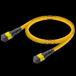 Samm Teknoloji - MTP Elite Erkek-Erkek Patch Cord | Base-12 | Single Mode G657.A2 | 3.0mm