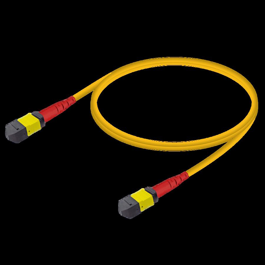 Samm Teknoloji - MTP Elite Erkek-Erkek Patch Cord | Base-24 | Single Mode G657.A2 | 3.0mm