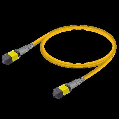 Samm Teknoloji - MTP Elite Female-Female Patch Cord | Base-8 | Single Mode G657.A2 | 3.0mm