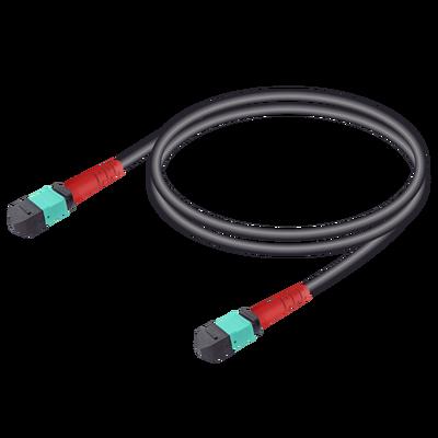 Samm Teknoloji - MTP Elite Female-Female Universal Patch Cord | Base-24 | Single Mode G651.OM3 | 4.8mm