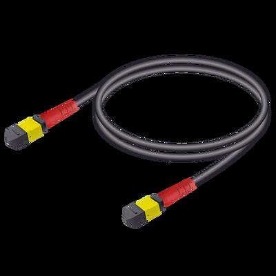 Samm Teknoloji - MTP Elite Female-Female Universal Patch Cord | Base-24 | Single Mode G657.A2 | 4.8mm