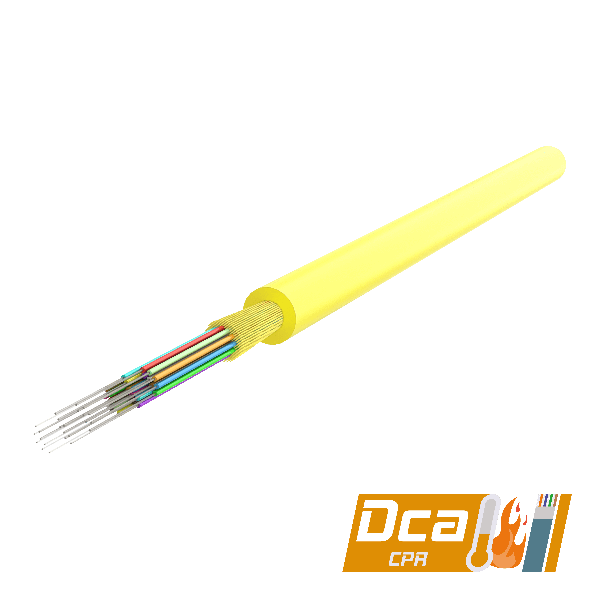 Samm Teknoloji - Multi-Fiber Distribution Cable 3.0mm | I-(ZN)H 1x12 | 1000 meters