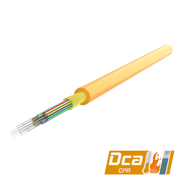 Multi-Fiber Distribution Cable 3.0mm   I-(ZN)H 1x12   1000 meters