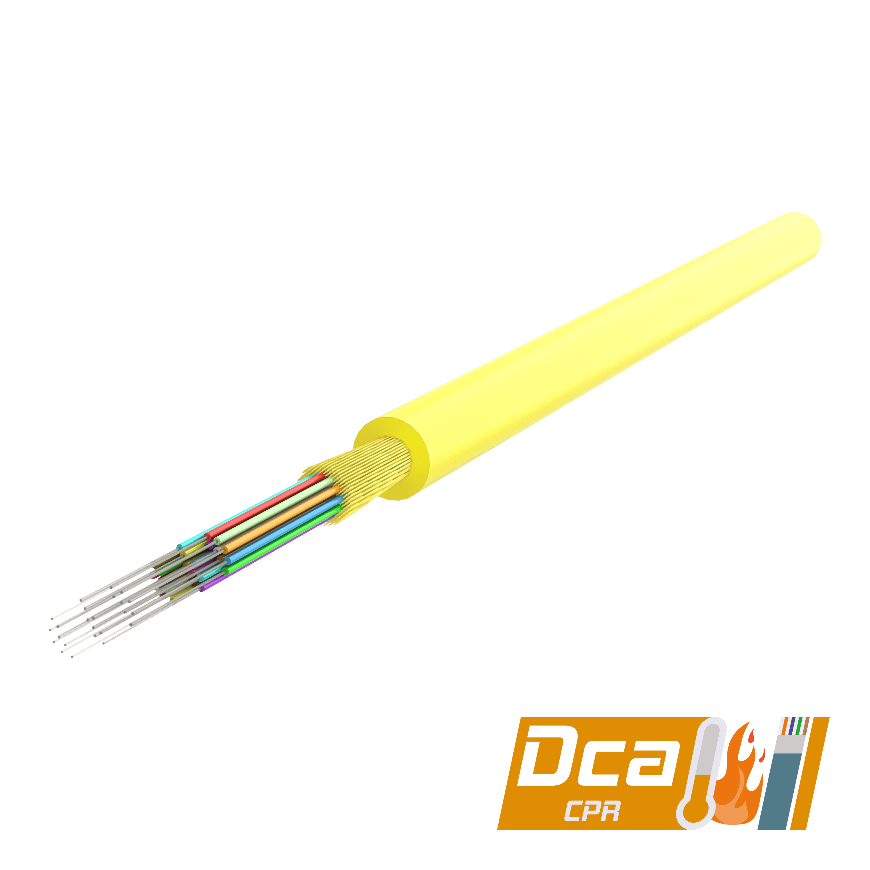 Samm Teknoloji - Multi-Fiber Distribution Kablo 3.0mm | I-(ZN)H 1x24 | CPR: Dca | 1000 metre