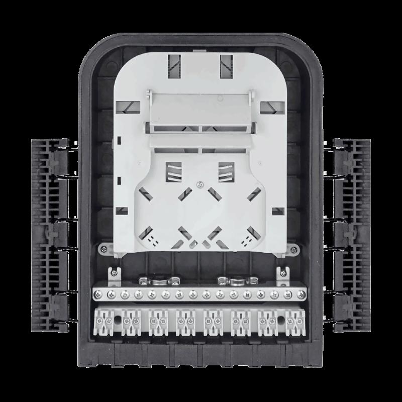 Samm Teknoloji - Outdoor Termination Box | 1 Tray 16 Fibers 16 Ports 16 PLC | 305216 (1)