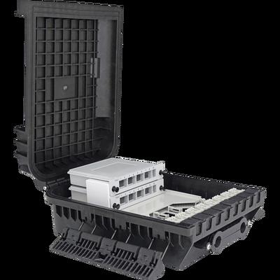 Samm Teknoloji - Outdoor Termination Box   1 Tray 24 Fibers 16 Ports 16 LGX   305216