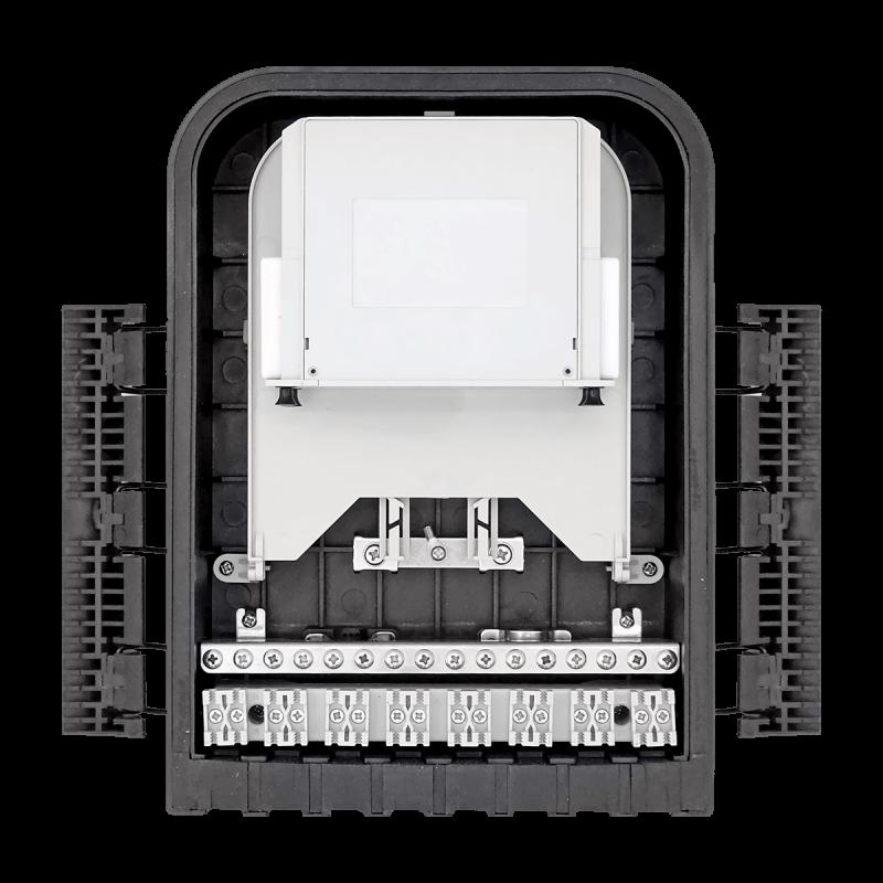 Samm Teknoloji - Outdoor Termination Box | 1 Tray 24 Fibers 16 Ports 16 LGX | 305216 (1)