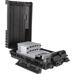 Samm Teknoloji - Outdoor Termination Box   1 Tray 24 Fibers 16 Ports 16 LGX   362217