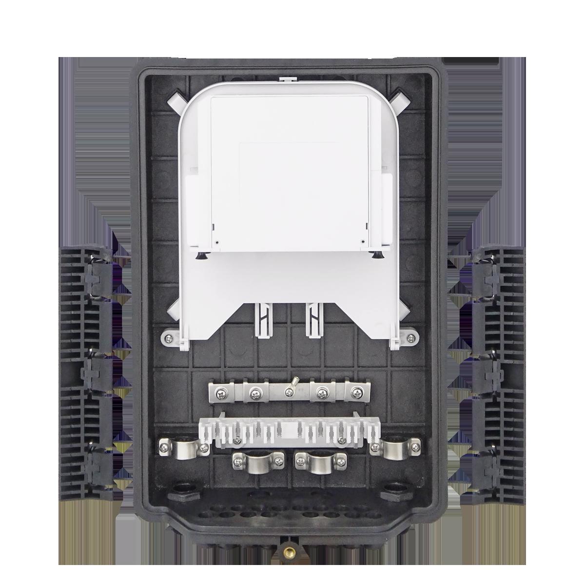 Samm Teknoloji - Outdoor Termination Box | 1 Tray 24 Fibers 16 Ports 16 LGX | 362217 (1)