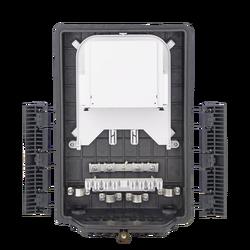 Samm Teknoloji - Outdoor Termination Box   1 Tray 24 Fibers 16 Ports 16 LGX   362217 (1)