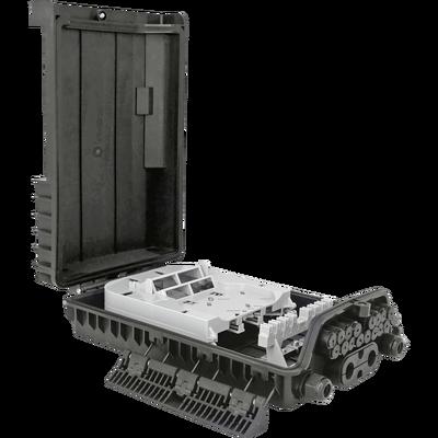 Samm Teknoloji - Outdoor Termination Box   1 Tray 24 Fibers 16 Ports 16 PLC   362217