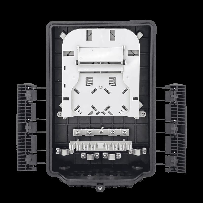 Samm Teknoloji - Outdoor Termination Box | 1 Tray 24 Fibers 16 Ports 16 PLC | 362217 (1)