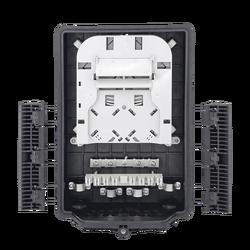 Samm Teknoloji - Outdoor Termination Box   1 Tray 24 Fibers 16 Ports 16 PLC   362217 (1)