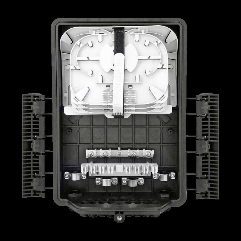 Samm Teknoloji - Outdoor Termination Box | 3 Trays 36 Fibers 16 Ports 16 PLC | 362217 (1)