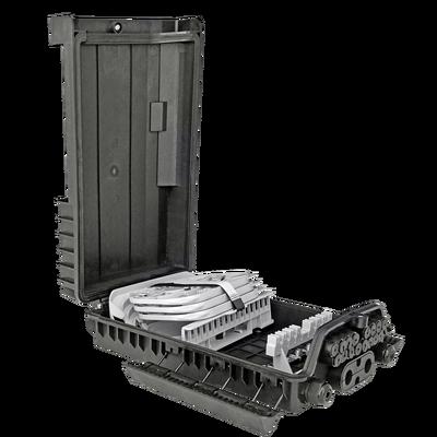 Samm Teknoloji - Outdoor Termination Box   3 Trays 36 Fibers 16 Ports 16 PLC   362217