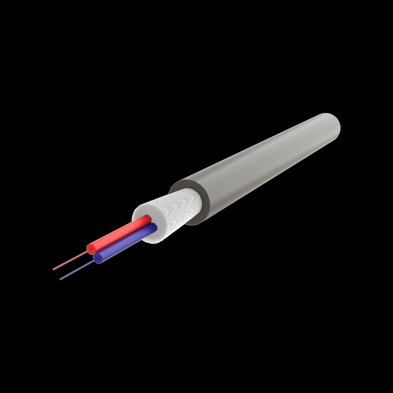 Samm Teknoloji - Mini Breakout FTTX Kablo 4.8mm | U-V(ZN)BH 1x2 | 1000 metre
