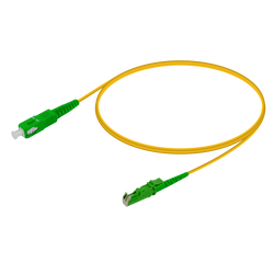 Samm Teknoloji - SC/APC-E2000/APC | Single Mode G657.A2 Simplex Patch Cord | 2.0mm