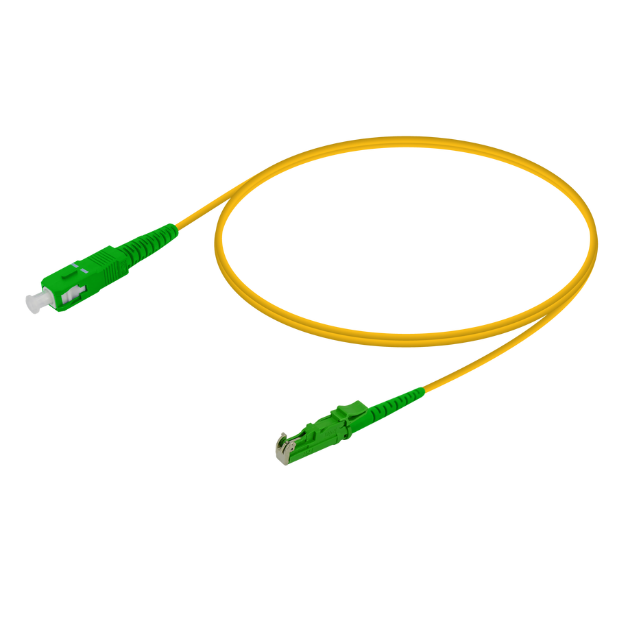 Samm Teknoloji - SC/APC-LSH/APC | Single Mode G657.A2 Simplex Patch Cord | 2.0mm