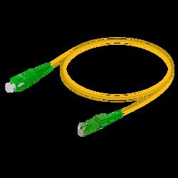 Samm Teknoloji - SC/APC-E2000/APC | Single Mode G657.A2 Simplex Patch Cord | 2.0mm