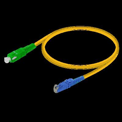 Samm Teknoloji - SC/APC-LSH/UPC   Single Mode G657.A2 Simplex Patch Cord   2.0mm