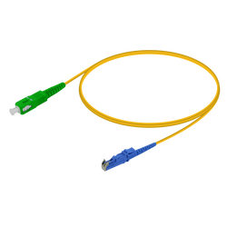Samm Teknoloji - SC/APC-E2000/UPC | Single Mode G657.A2 Simplex Patch Cord | 2.0mm