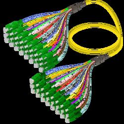 Samm Teknoloji - SC/APC-LC/APC | 24 Fibers Fanout | Single Mode G657.A2 | 3.0/0.9mm