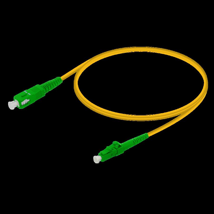 Samm Teknoloji - SC/APC-LC/APC | Single Mode G657.A2 Simplex Patch Cord | 2.0mm