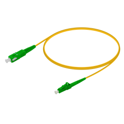 Samm Teknoloji - SC/APC-LC/APC | Single Mode G657.A2 Simplex Patch Cord | 2.0mm
