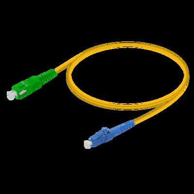SC/APC-LC/UPC | Single Mode G657.A2 Simplex Patch Cord | 2.0mm