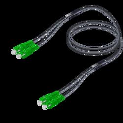 Samm Teknoloji - SC/APC-SC/APC | Single Mode G657.A2 Universal Breakout | 4.8x2.0mm