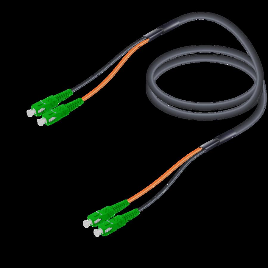 Samm Teknoloji - SC/APC-SC/APC   Single Mode G657.A2 Universal Breakout   7.0x2.0mm
