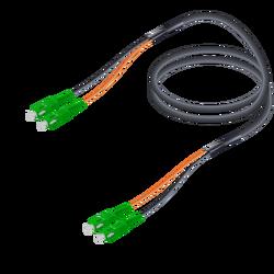Samm Teknoloji - SC/APC-SC/APC | Single Mode G657.A2 Universal Breakout | 7.0x2.0mm