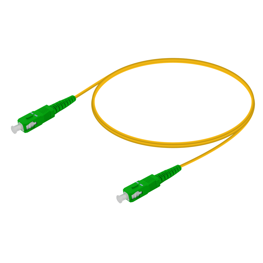 Samm Teknoloji - SC/APC-SC/APC | Single Mode G657.A2 Simplex Patch Cord | 2.0mm