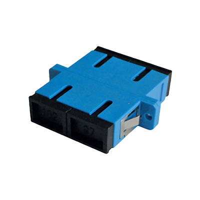 - SC Duplex Adapter | w/ Flange