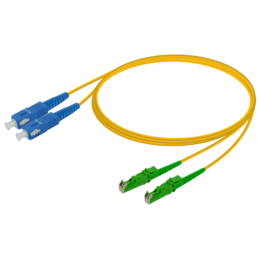 Samm Teknoloji - SC/UPC-LSH/APC | Single Mode G657.A2 Duplex Patch Cord | 2.0x4.1mm
