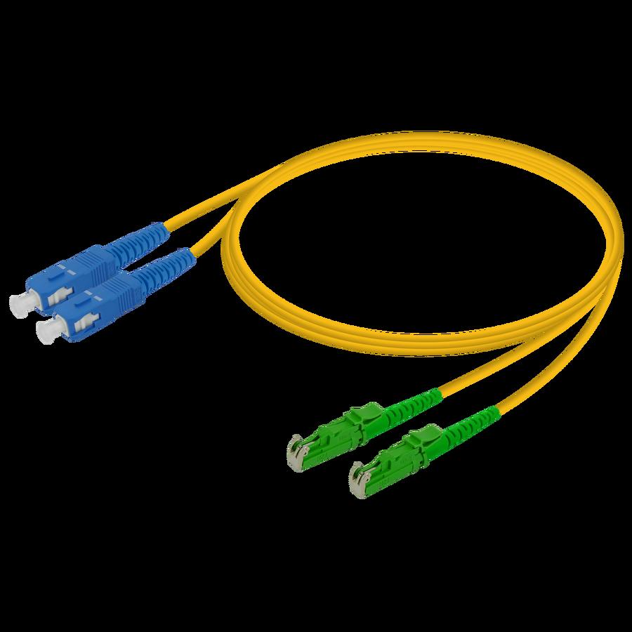 Samm Teknoloji - SC/UPC-LSH/APC | Single Mode G657.A2 Duplex Patch Cord | 2.0x4.1mm