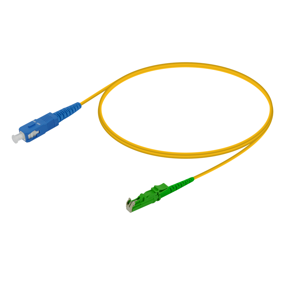 Samm Teknoloji - SC/UPC-LSH/APC | Single Mode G657.A2 Simplex Patch Cord | 2.0mm