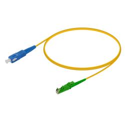 Samm Teknoloji - SC/UPC-E2000/APC | Single Mode G657.A2 Simplex Patch Cord | 2.0mm